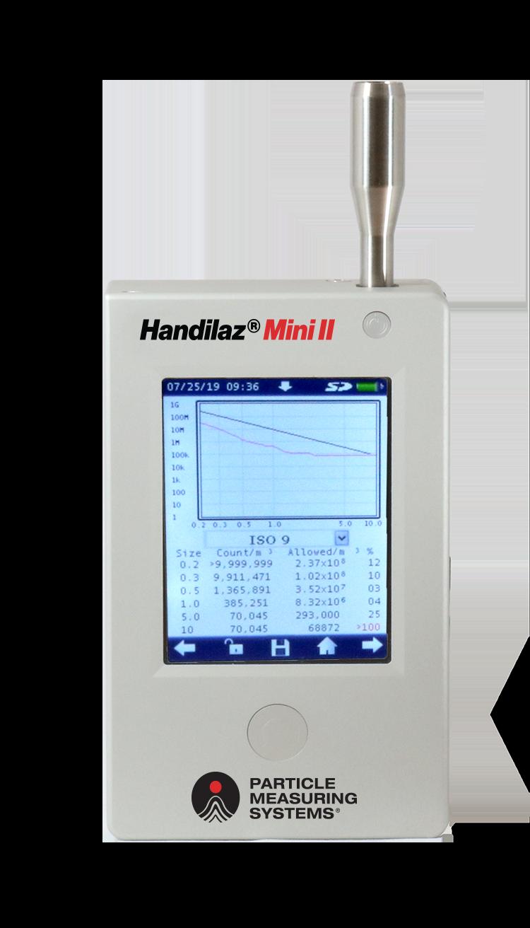 Handheld Particle Counter: Handilaz® Mini II