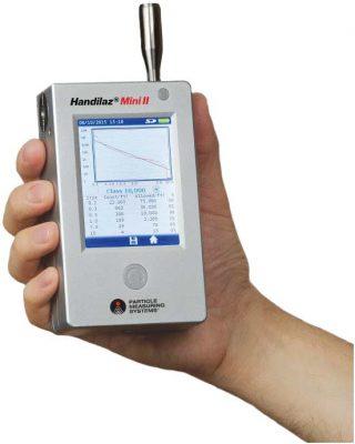 Máy đếm hạt tiểu phân cầm tay PMS Handilaz® Mini II