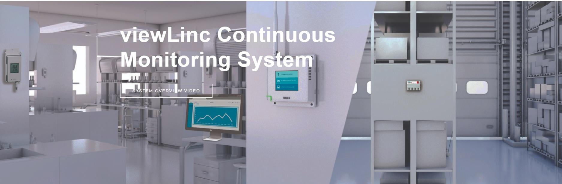 Hệ thống giám sát liên tục viewLinc - viewLinc Continuous Monitoring System